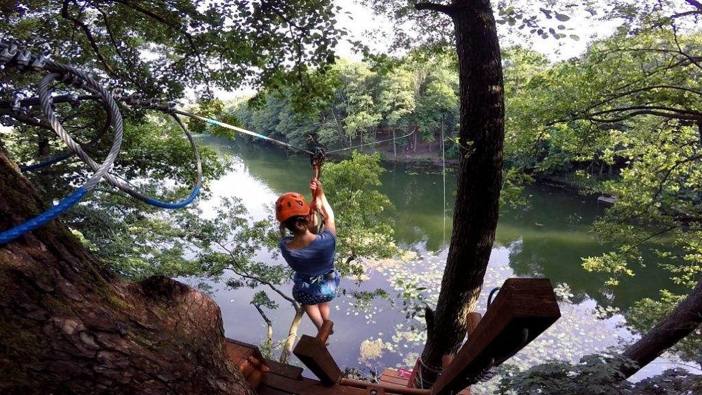 park linowy wiewiora