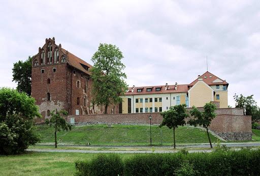 zamek gotycki w dzialdowie