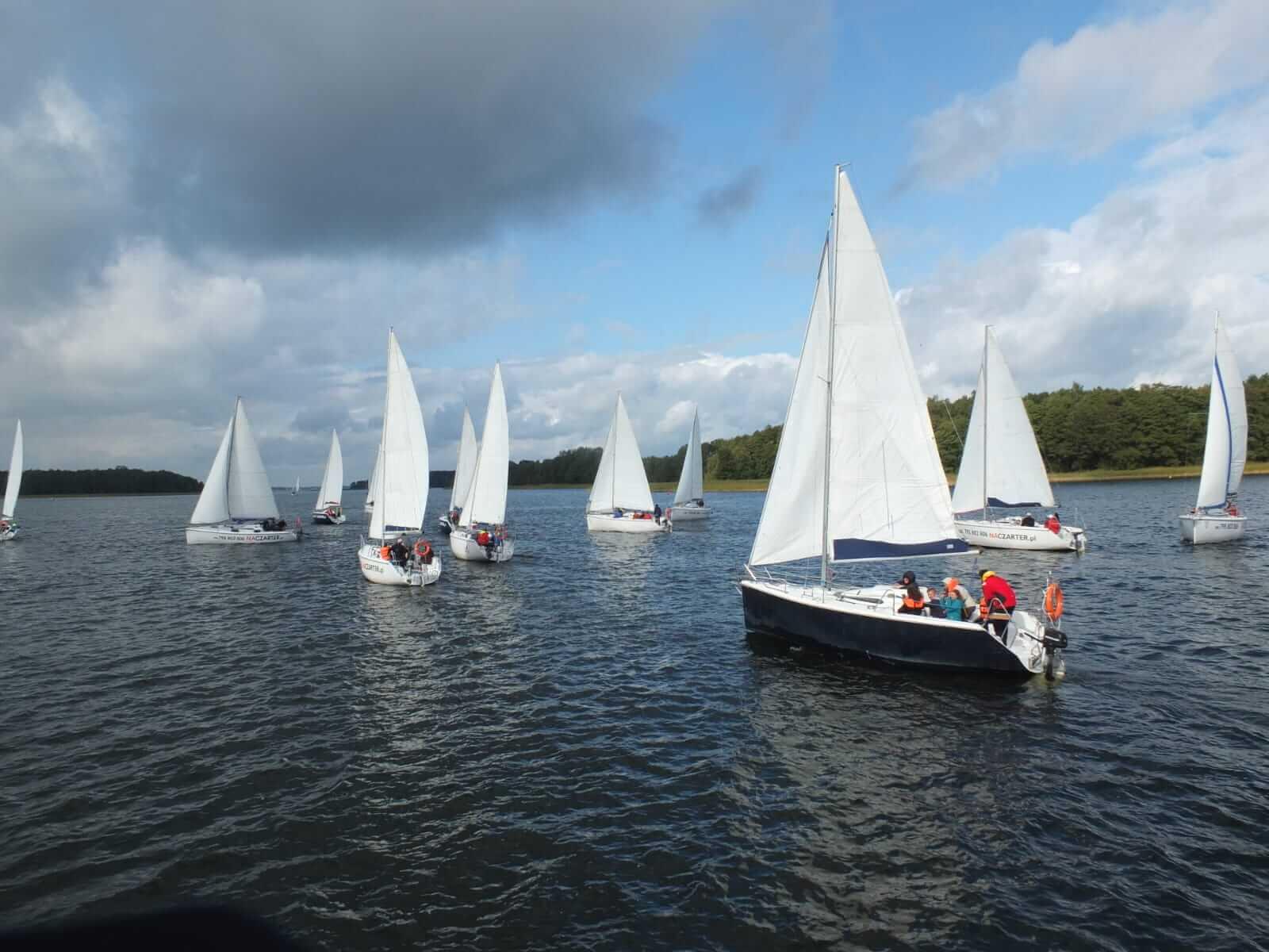 regaty żeglarskie Naczarter CUP 2020